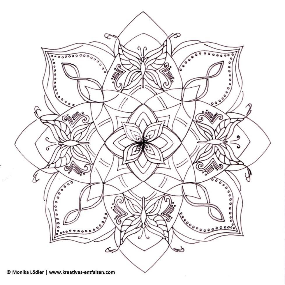 mandala zum ausmalen einhorn  ausmalbilder und vorlagen